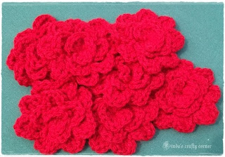roses, flowers, crochet, easy, pretty, decoration