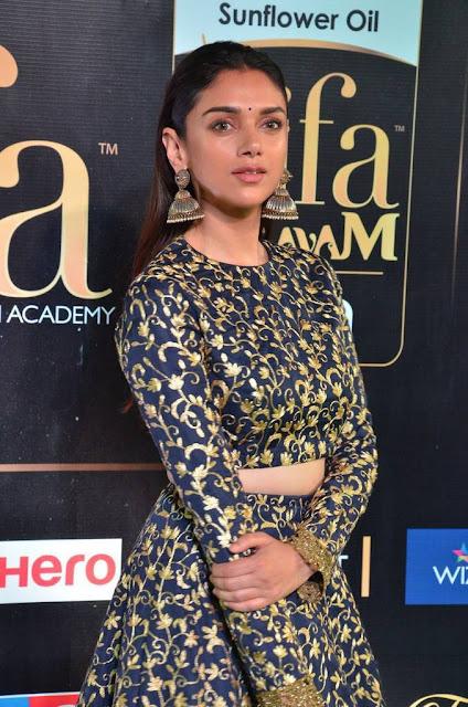 Aditi Rao Stills At IIFA Awards 2017