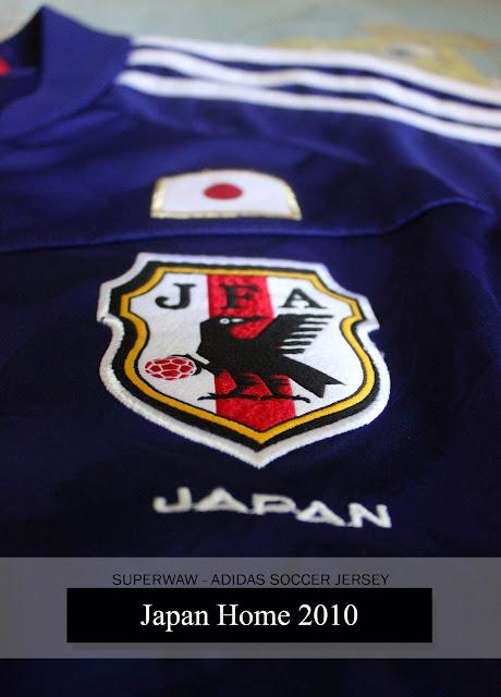 Jersey Jepang Home 2010
