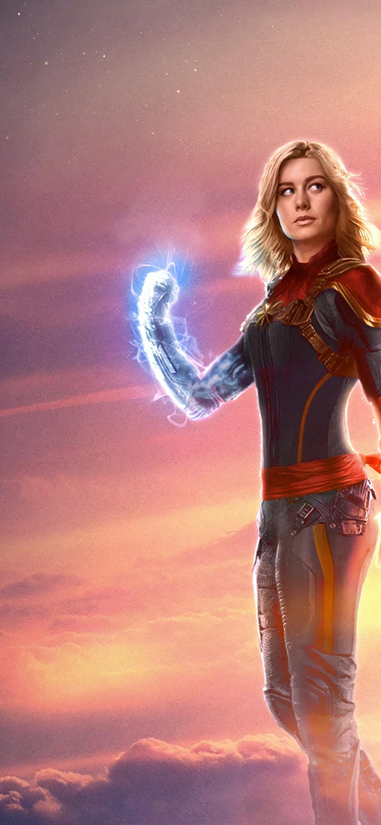 Captain Marvel Movie Brie Larson 4k Wallpaper 27