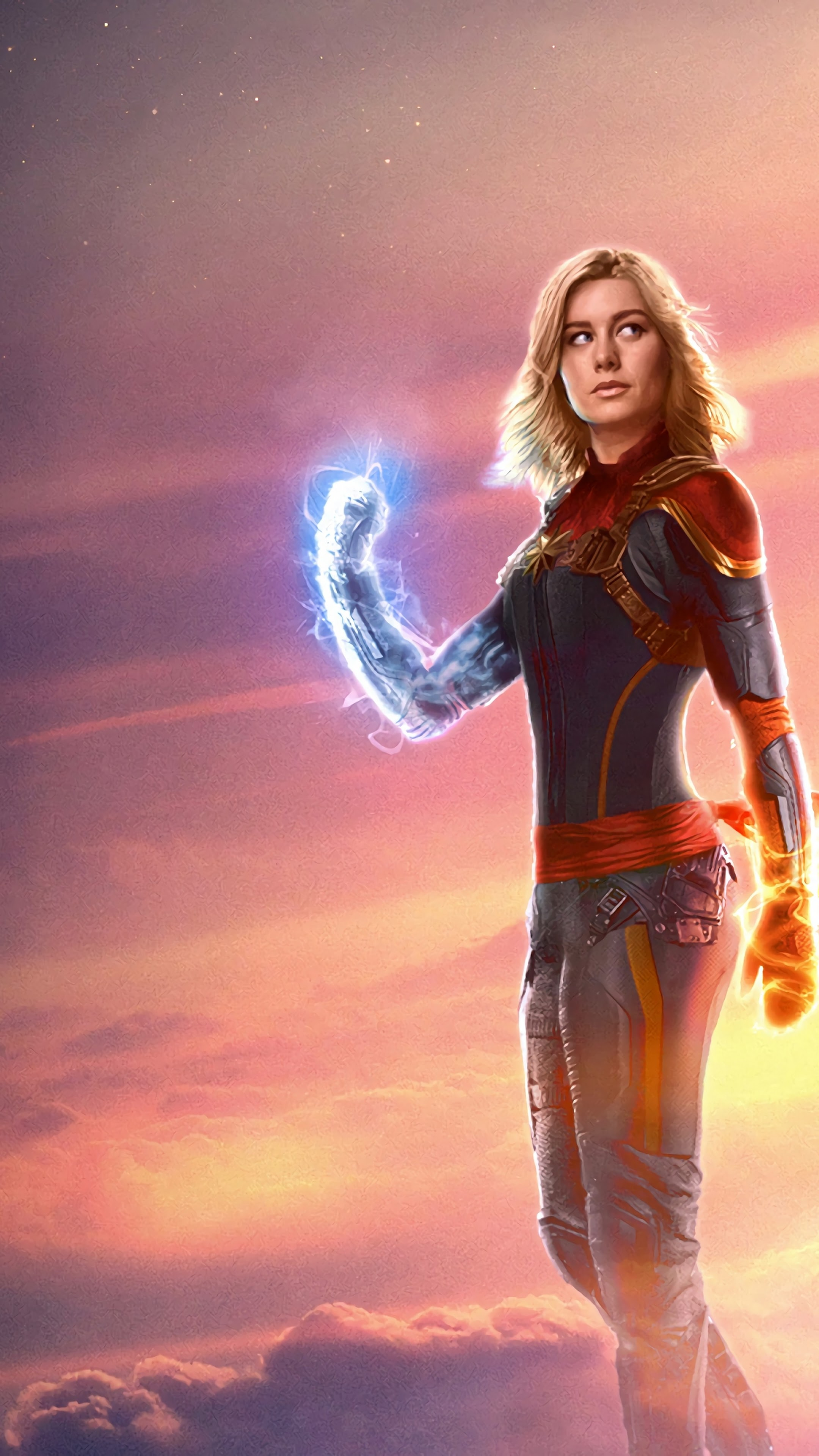 Captain Marvel Movie Brie Larson 4k Wallpaper 27