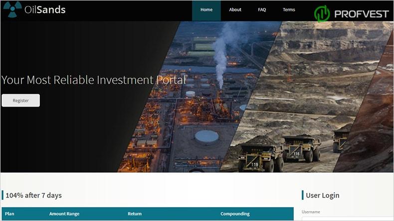 OilSands обзор и отзывы HYIP-проекта