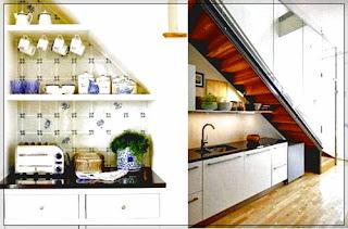 Dapur Minimalis Ukuran 2 X 3 yang Rapi dan Nyaman