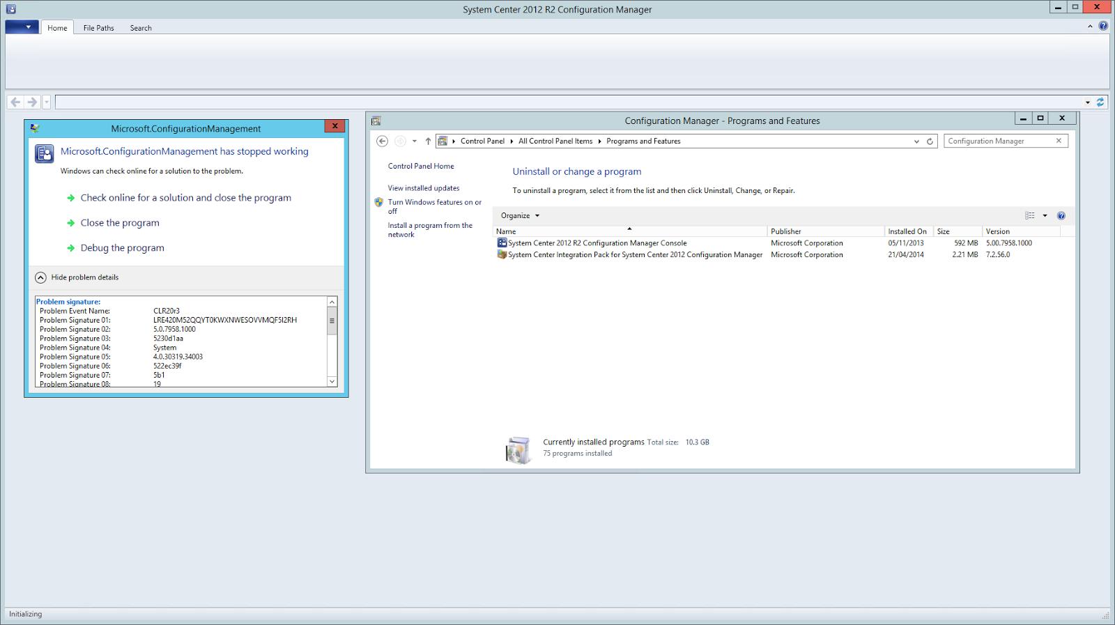 Microsoft System Center Suite: April 2014