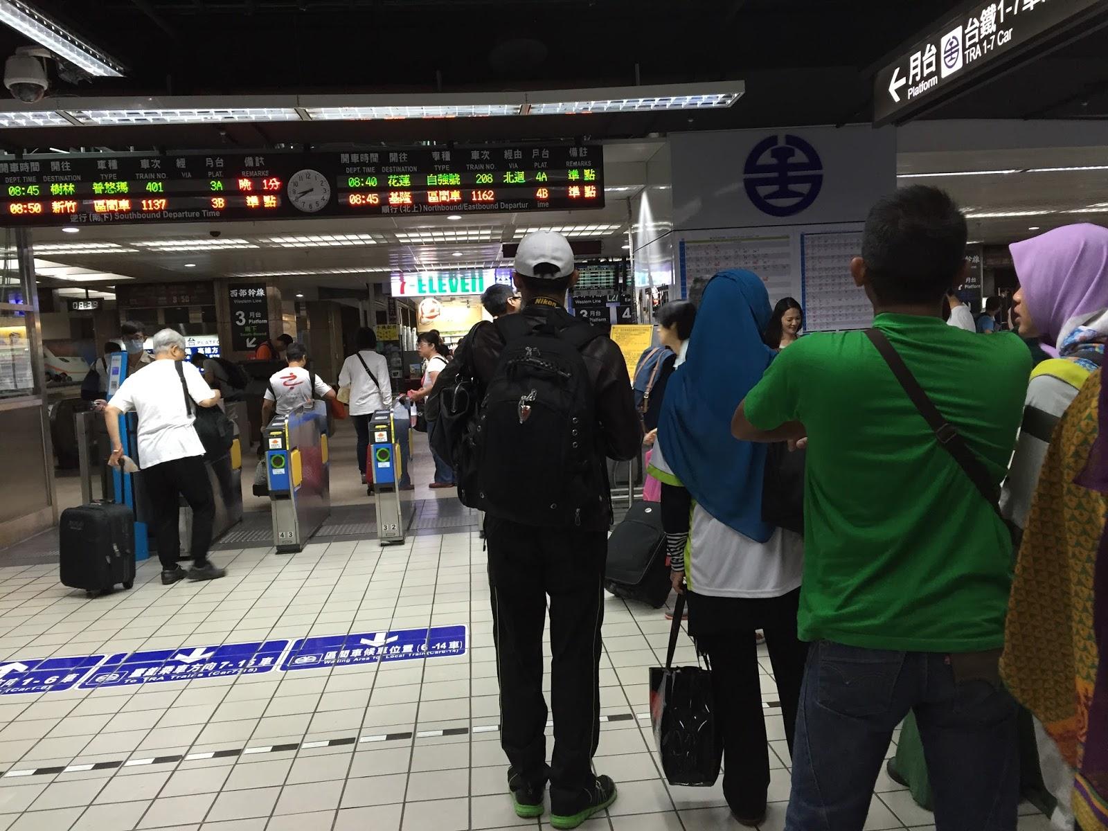 bercuti di Taiwan
