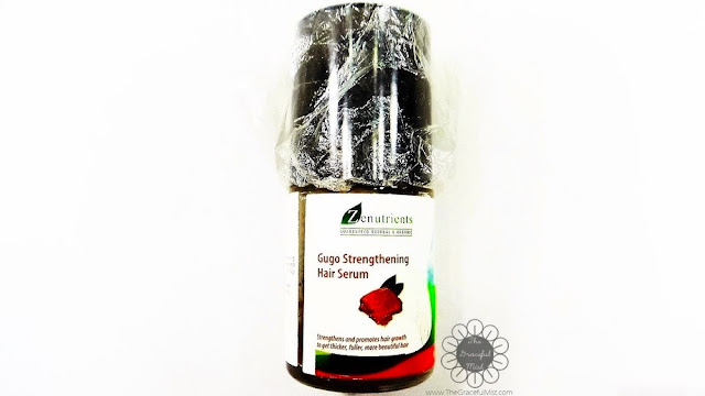Zenutrients Philippines | Guaranteed Natural & Organic: Gugo Strengthening Hair Serum (Review at www.TheGracefulMist.com)