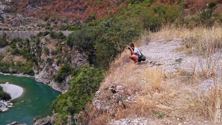 Вид на реку Морача, Черногория