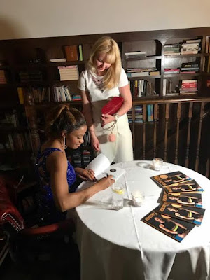 """Amara Kanu Celebrate Birthday In London As She Launches Her Book Title """"Health Living"""""""