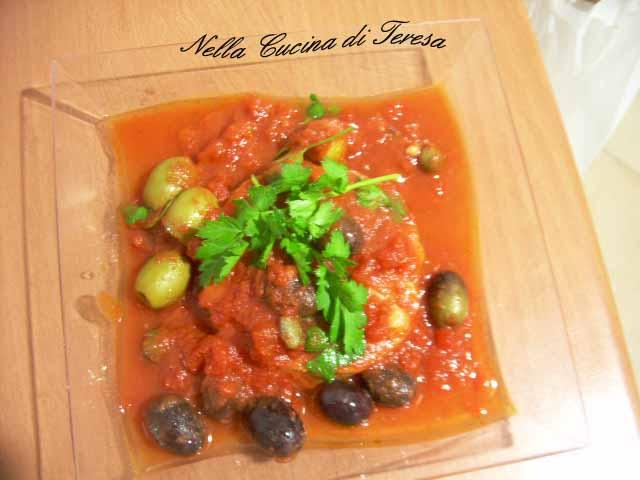 Cuori di merluzzo al sugo nella cucina di teresa - Nella cucina di teresa ...