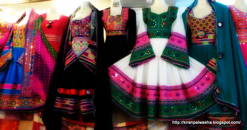 Fancy Afghani And Kuchi Style Frocks