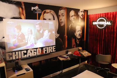 Foto do quarto temático de Chicago  (Universal TV)