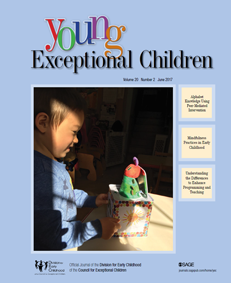 Young Exceptional Children journal cover