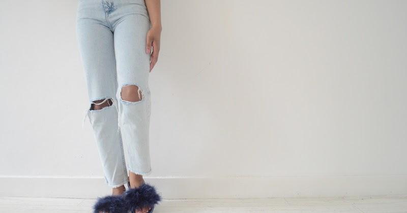 Diy Faux Fur Slides