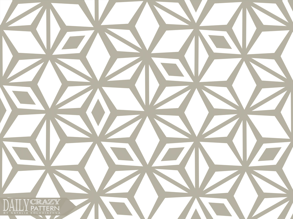 Relaxing beige cool geometric pattern