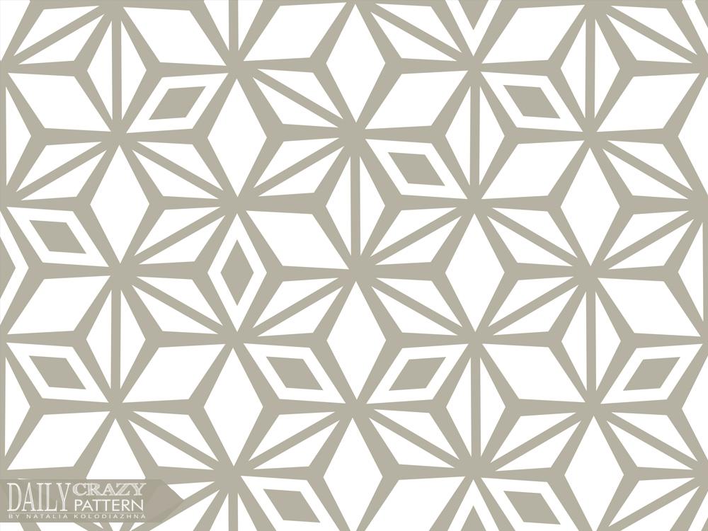 Relaxing beige cool geometric pattern