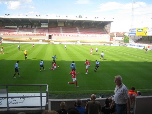 Le Canonnier, stadion van Excel Mouscron