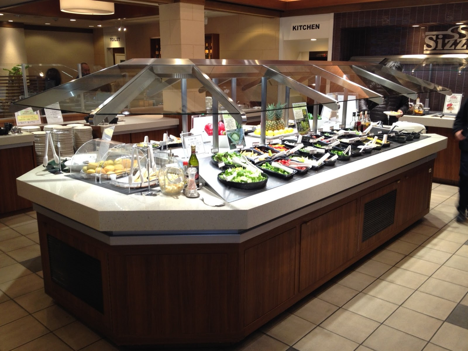 All You Can Eat Salad Bar Restaurant