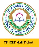 TS ICET Hall Ticket