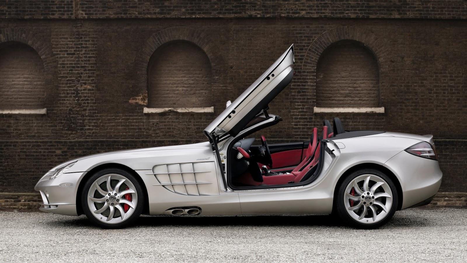 8. McLaren Mercedes SLR Roadster
