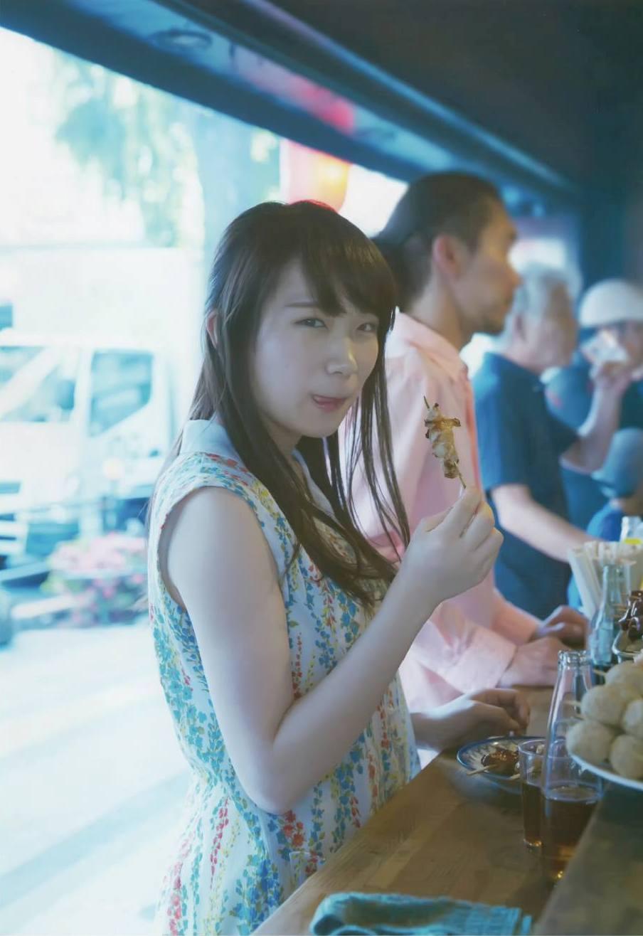 Akimoto Manatsu 秋元真夏 Nogizaka46, BRODY 2017.08 (ブロディ 2017年8月号)