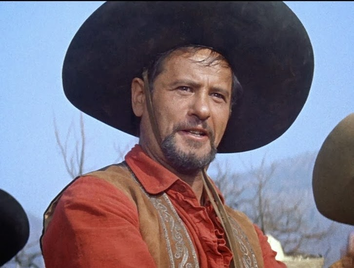 Image result for the magnificent seven chris and calvera