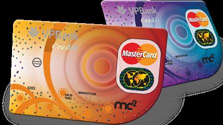 Thẻ tín dụng MC2 của VPBank