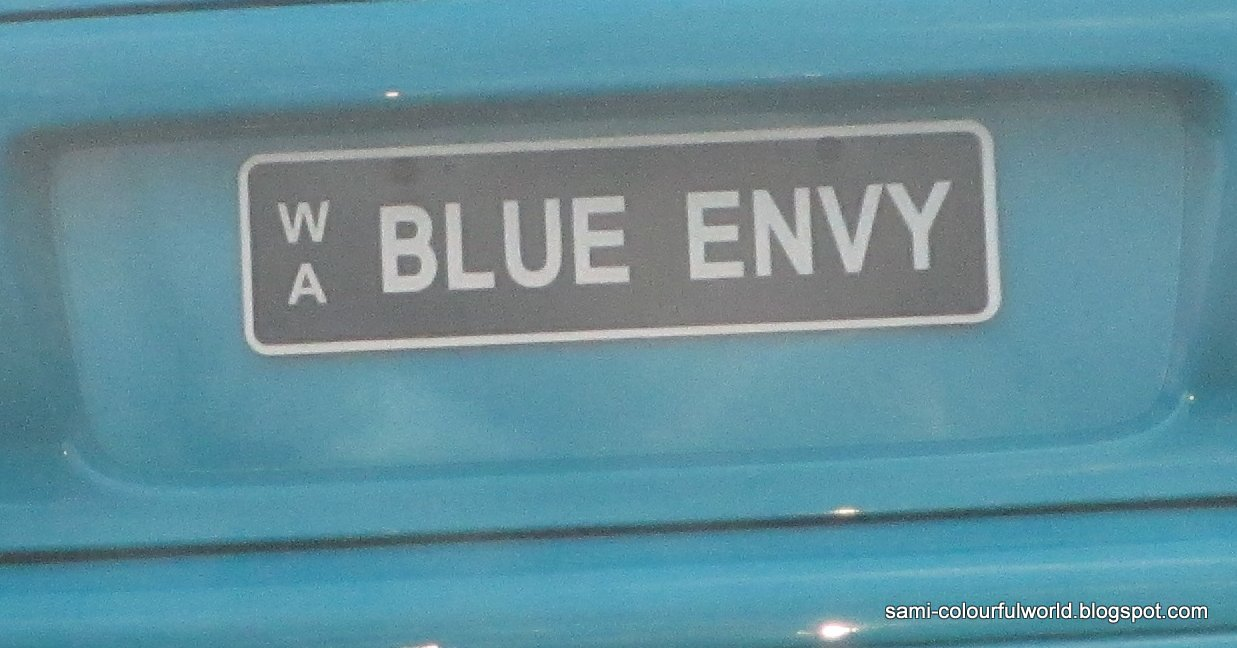Car colour number plate - I Thought The Colour Associated With Envy Was Green I Suppose Because His Her Car Was Blue It Was Changed To Blue