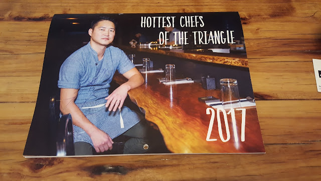 Hottest Chefs in the Triangle Calendar