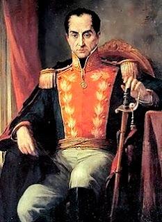 Imagen de Simón Bolivar a color