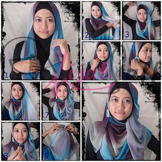 Kreasi Hijab Modern Remaja