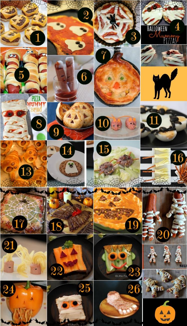 Cosa Cucinare Il 24 Dicembre menù di halloween • idee di ricette salate / cartolelya