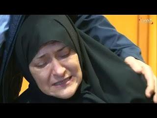 بالفيديو:شاهد لحظة وصول جثمان نجوى قاسم وتشييع جثمانها في مسقط رأسها .