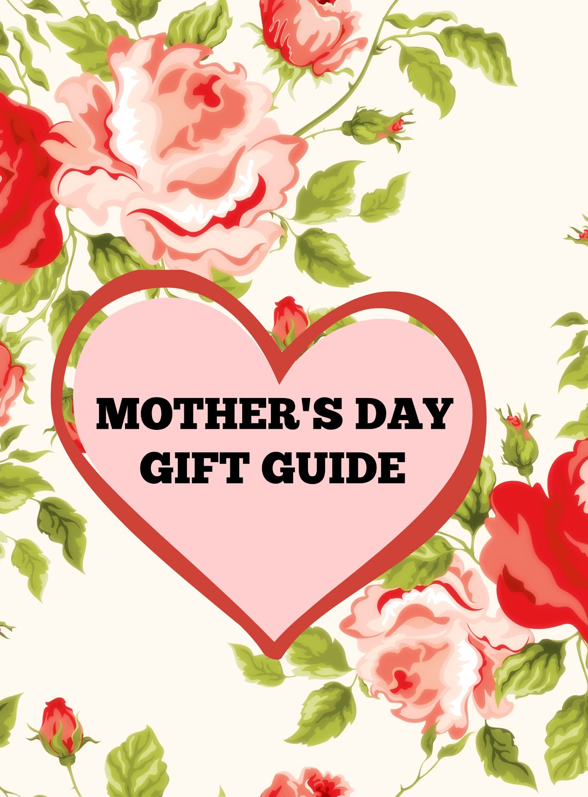Living a Fit and Full Life's 2018 Mother's Day Gift Guide! #MOTHERSDAY2018