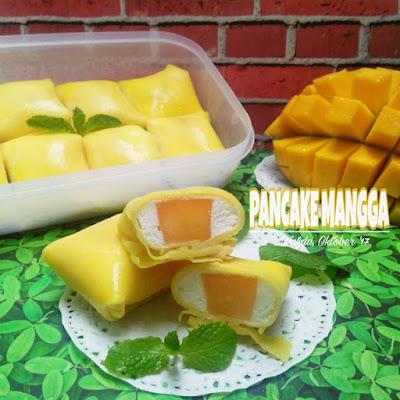 Resep Pancake Mangga Ala Rumahan By @dapurwafda