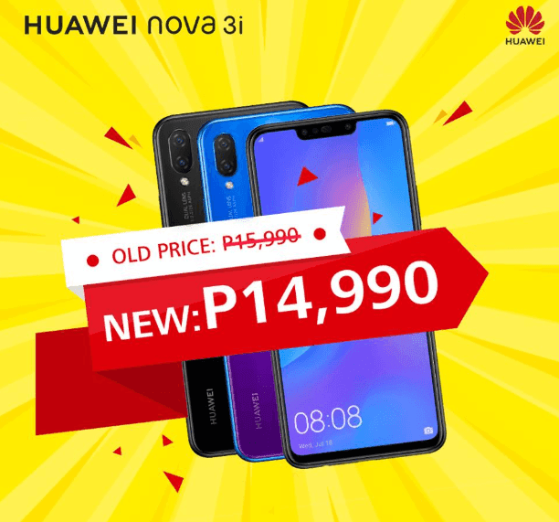 Huawei Nova 3i receives a price cut