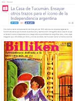 Ensayar otros trazos  para el ícono de la Independencia argentina.