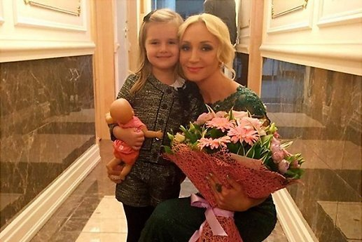 Daughter Kristina Orbakaite educates children Pugacheva