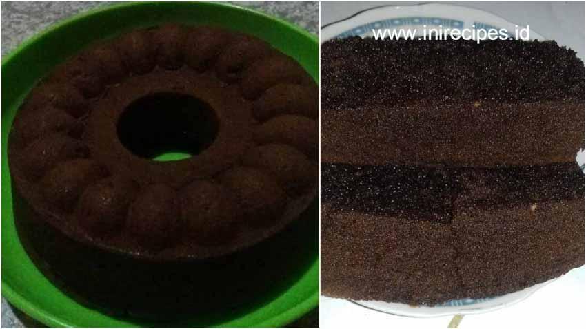 Resep Membuat Brownies Kukus Cokelat Irit Serba 4 Sendok Makan