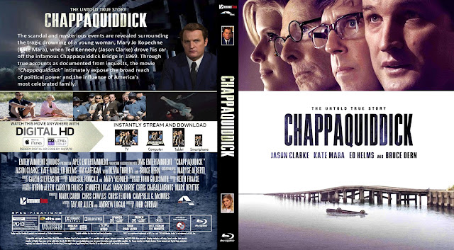 Chappaquiddick Bluray Cover