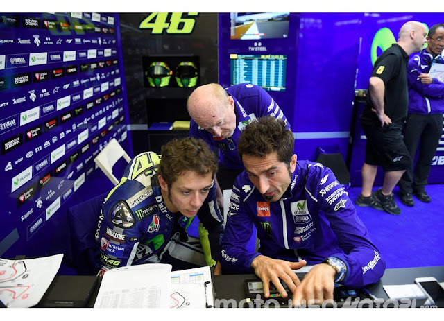 Teknisi Rossi dan Lorenzo, Sering Satu Kamar, Tapi Tak Ada Kerjasama di Yamaha berita motogp