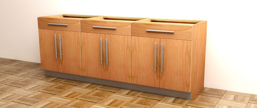 kitchen floor cabinet knotty alder cabinets how to build frameless base