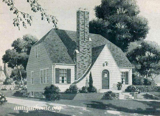 1938 Sears Kit House::English Cottage Style