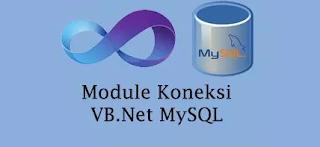 Membuat Koneksi Database MySql dengan VB Net