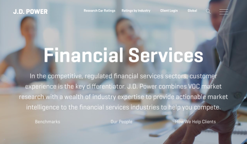 J.D. Power Financial Services