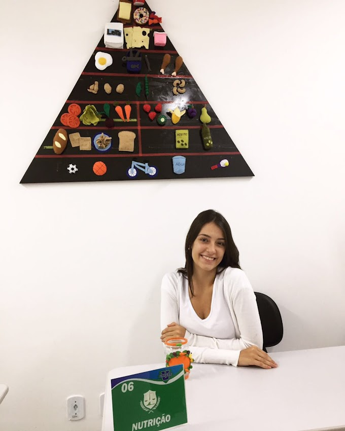 Cursando Nutrição - Marina Schwantes