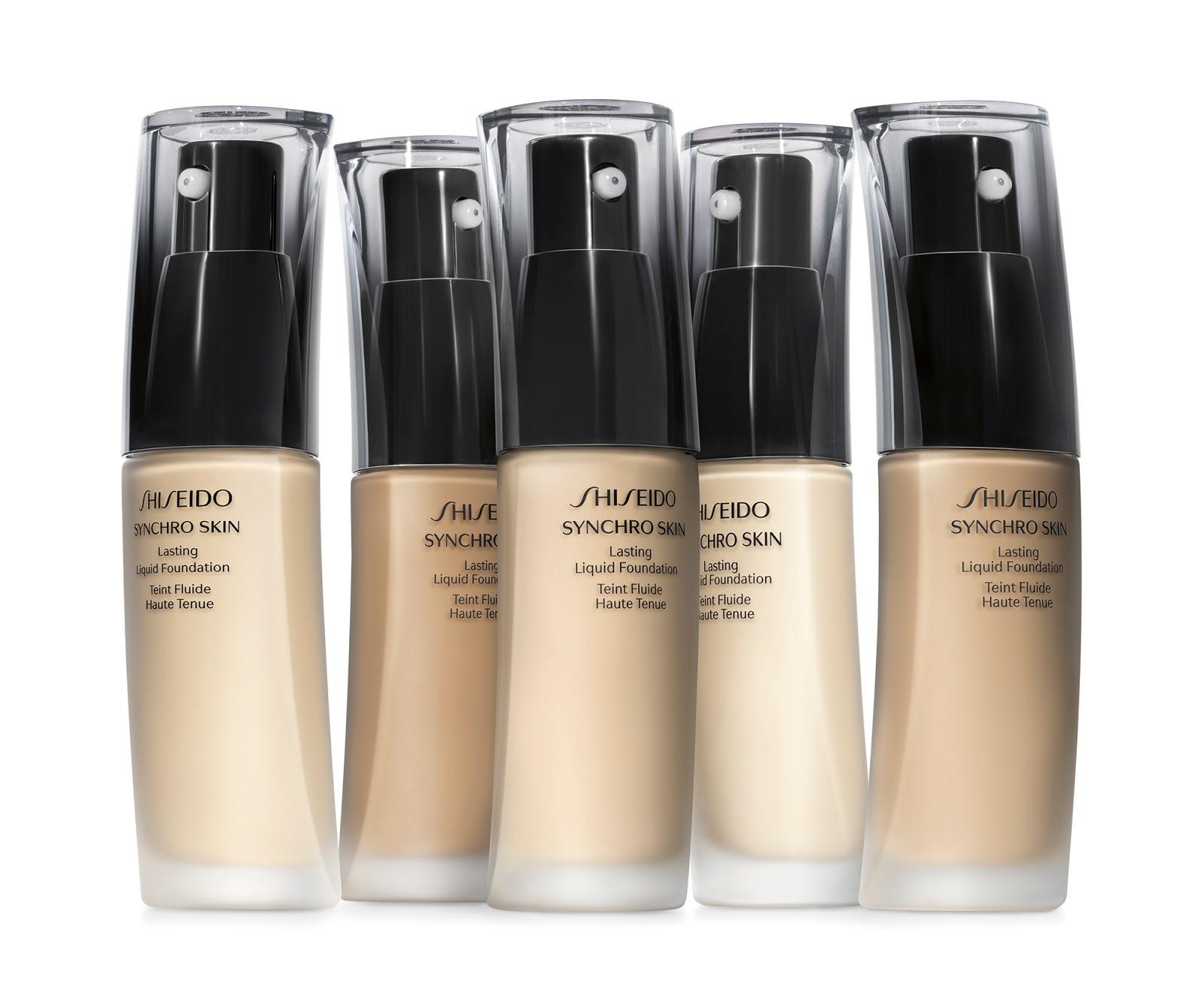 maquillaje shiseido synchro skin