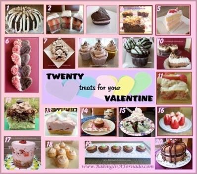 Twenty Treats | www.BakingInATornado.com | #MyGraphics #bake #Valentine'sDay