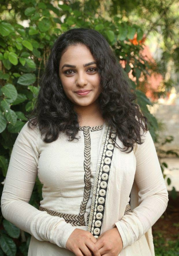 Nitya Menon New Photos at Ok Bangaram Audio Success Meet