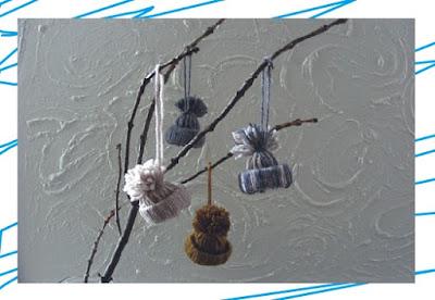 DIY งานประดิษฐ์ปอมปอมเครื่องประดับหมวกฤดูหนาวไหมพรม