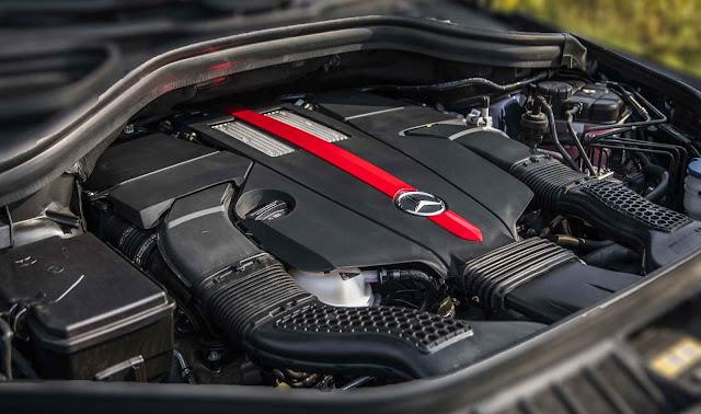 Động cơ Mercedes AMG GLE 43 4MATIC Coupe 2017 vận hành mạnh mẽ và vượt trội